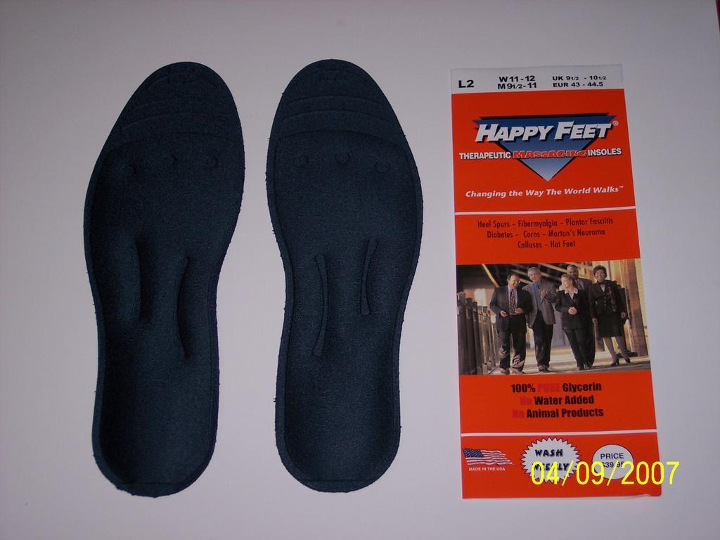 happy feet insoles
