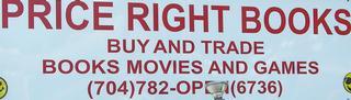 Price Right Books - Concord, NC