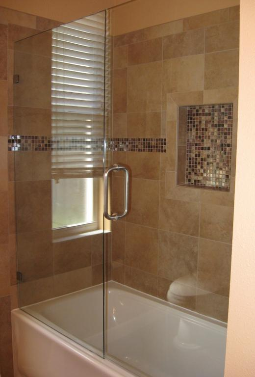 frameless glass tub door bathroom pinterest tubs