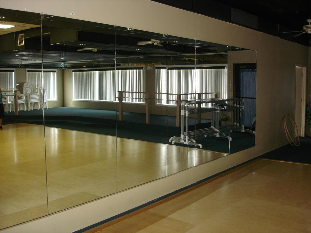 dance studio mirrors viewing gallery