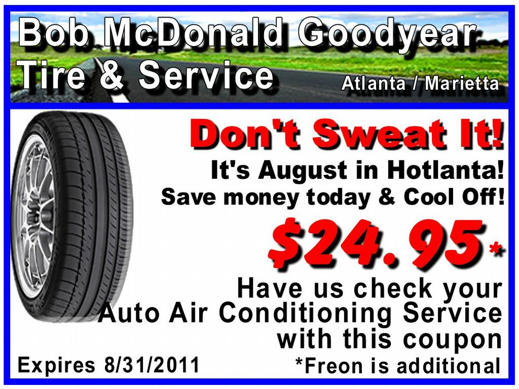 Goodyear tire coupons promotions