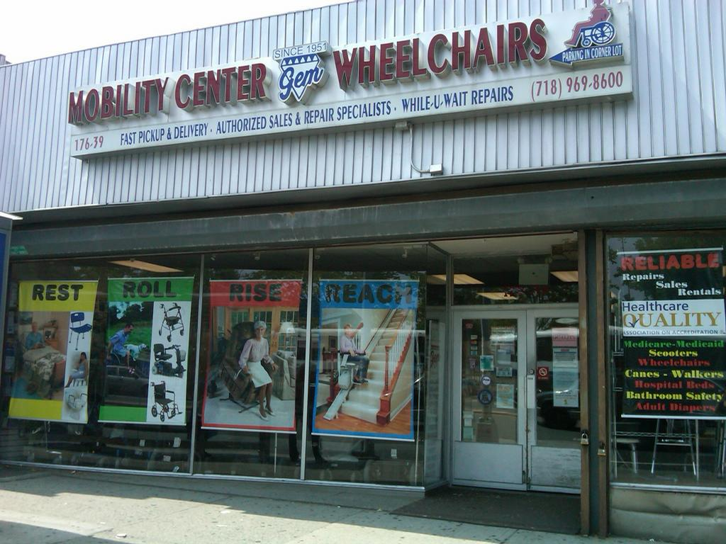 Gem wheelchair scooter services fresh meadows ny 11366 for Motorized wheelchair rental nyc