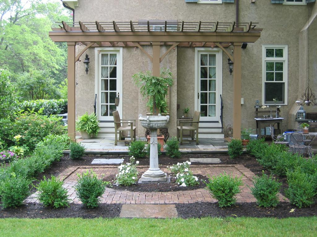 Nj landscape old english garden from parker homescape in for English garden designs