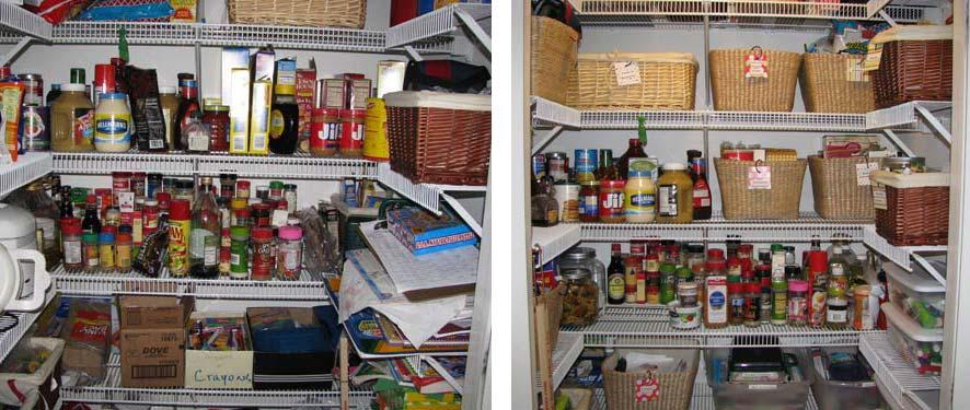 Quot Before Quot Amp Quot After Quot Pantry From Custom House Cleaning In