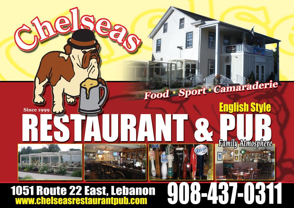 The Chelsea Restaurant Nj Lebanon