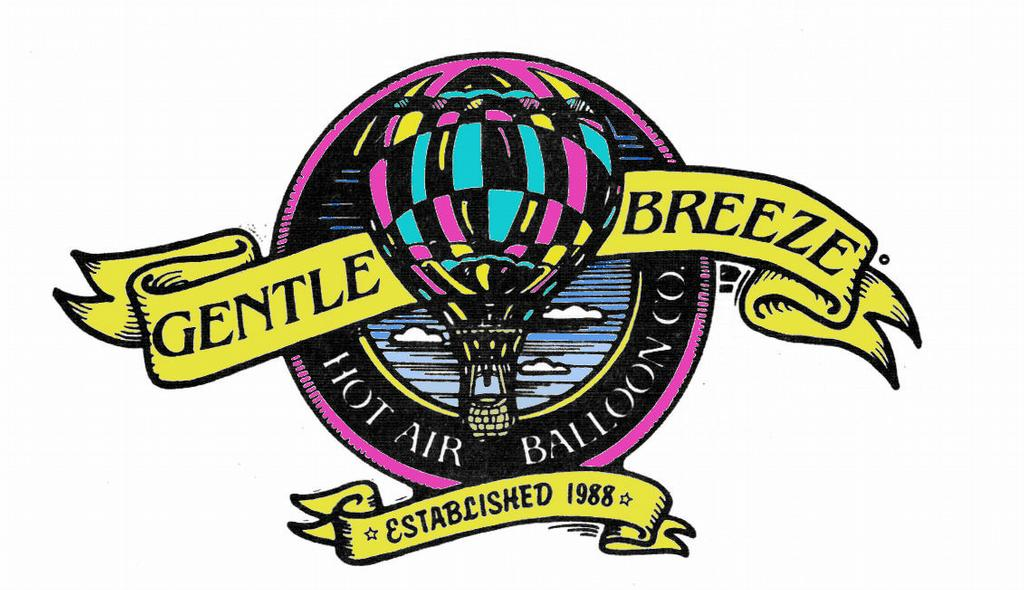 GB Logo Color-New 5-5-07 from Gentle Breeze Hot Air Balloon