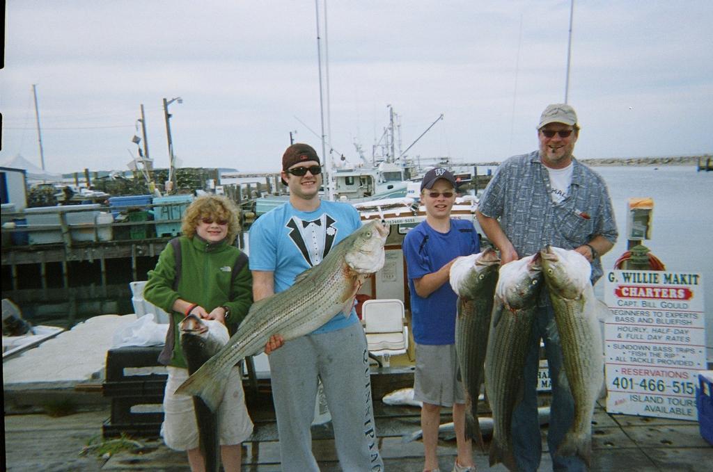 G willie makit fishing charters block island ri for Block island fishing charters