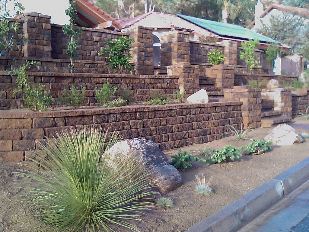 low water use landscape from landscape designs