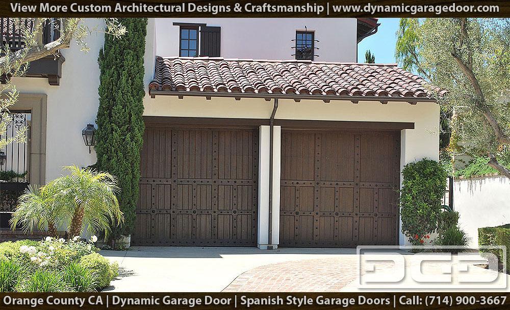 Custom Spanish Garage Doors 15 Custom Made Architectural
