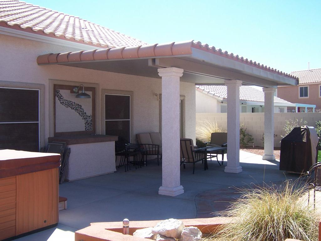 Solid alumawood patio cover from proficient patio covers for Patio covers las vegas nv