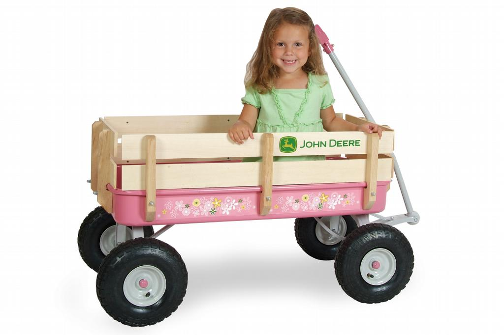 John Deere Wagons Flowered : John deere toy wagon car interior design