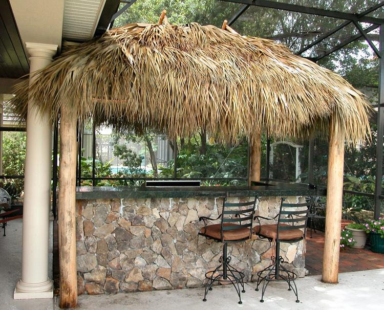 Tiki Bar Outdoors :  about Tiki Bars on Pinterest  Backyards, Bar and Outdoor tiki bar