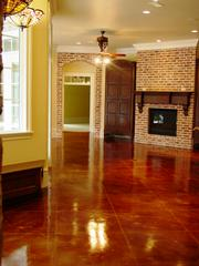 Stained Concrete By Peyton - Spring, TX