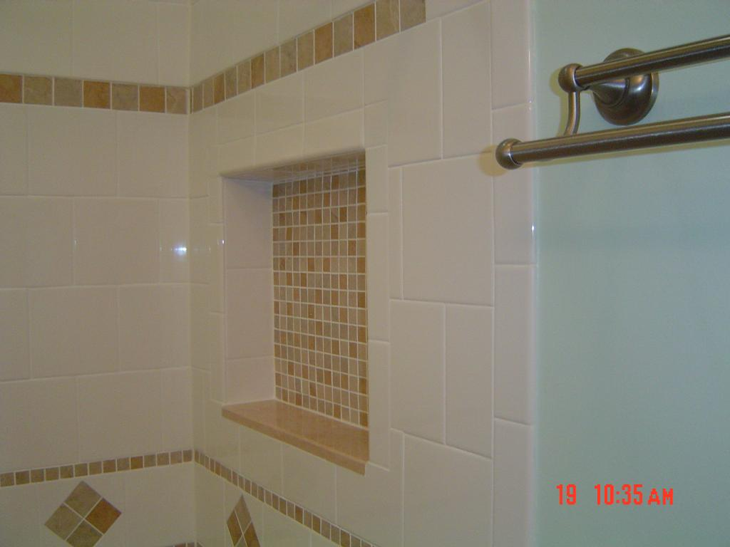 Innovative   Tub And Shower Parts  Dc Metro  By Bathroom Tile Shower Shelves