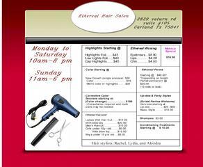 Ethereal Hair Salon - Homestead Business Directory