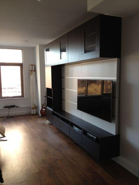 IKEA Besta unit installed in Long Island City, Queens! from ...