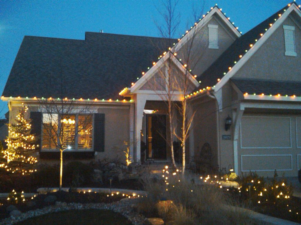 Christmas Lights in Overland Park by Winter Illuminations from