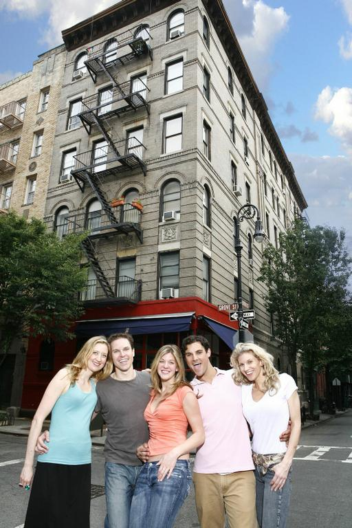 friends building from on location tours in new york ny 10018