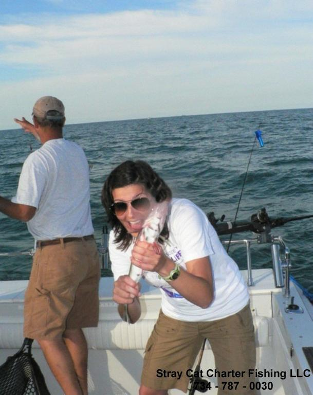 Pictures for stray cat charter fishing llc in luna pier for Lake erie pier fishing