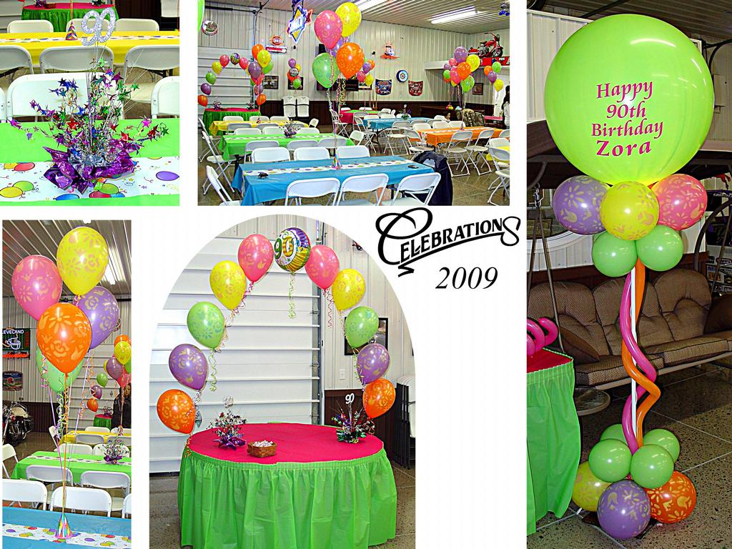Pictures for celebrations in delphos oh 45833 party rentals for 90th birthday decoration ideas