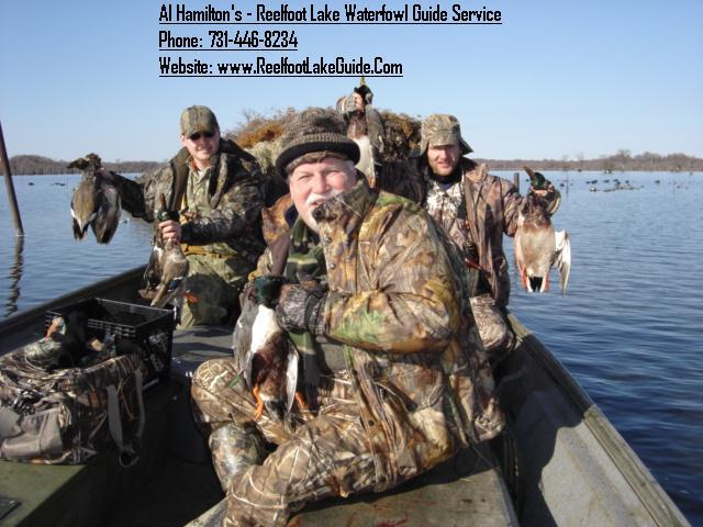 Reelfoot Lake Duck Hunting JPG from Al Hamilton's - Reelfoot Lake