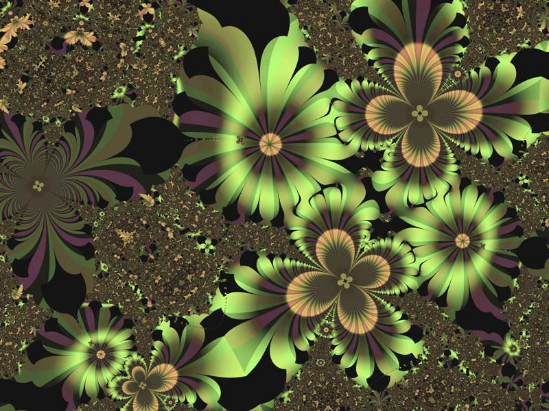 green-flowers-wallpaper from Village Florists & Gifts in Howard