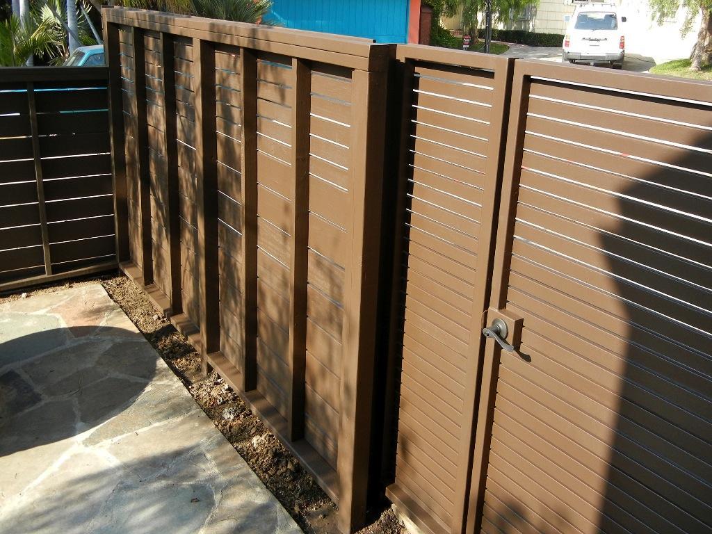 Wood fence contemporary joy studio design gallery best
