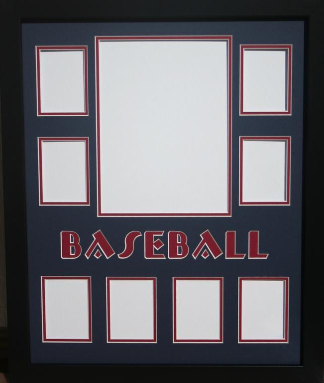baseball mat 16 x 20