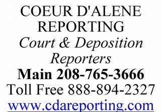 Coeur D Alene Reporting - Coeur d Alene, ID