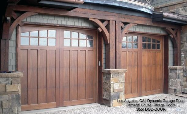 Carriage Style Garage Doors In Solid Wood Shaker Garage