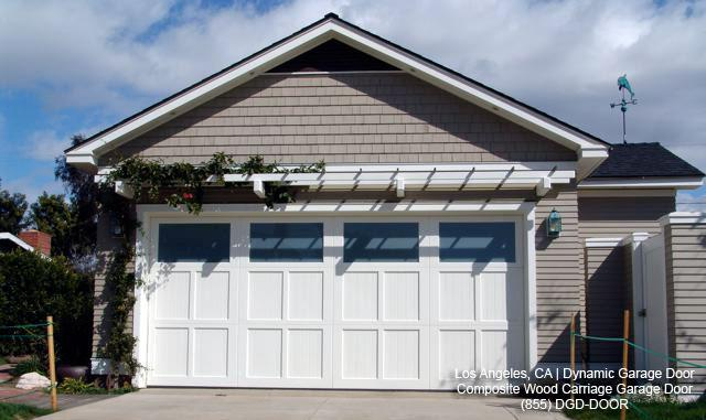 Lovely ECO Friendly Custom Carriage House Style Garage Door | Los Angeles, CA