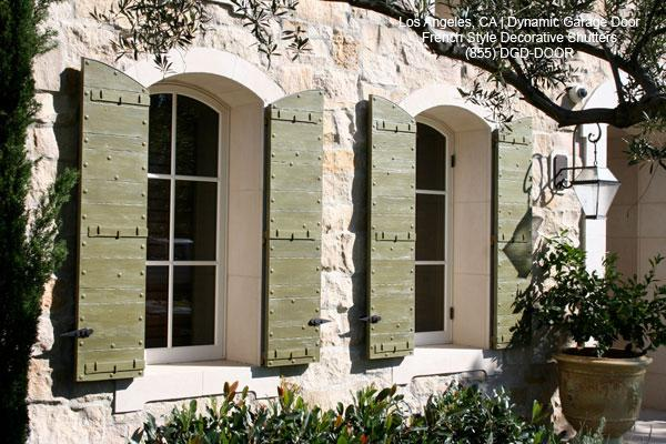 French Architectural Shutters Los Angeles Ca From Dynamic Garage Door Los Angeles Custom