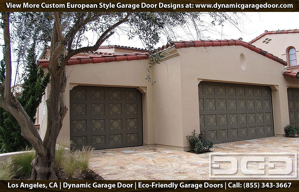 Custom made eco friendly garage doors by dynamic garage for European garage doors