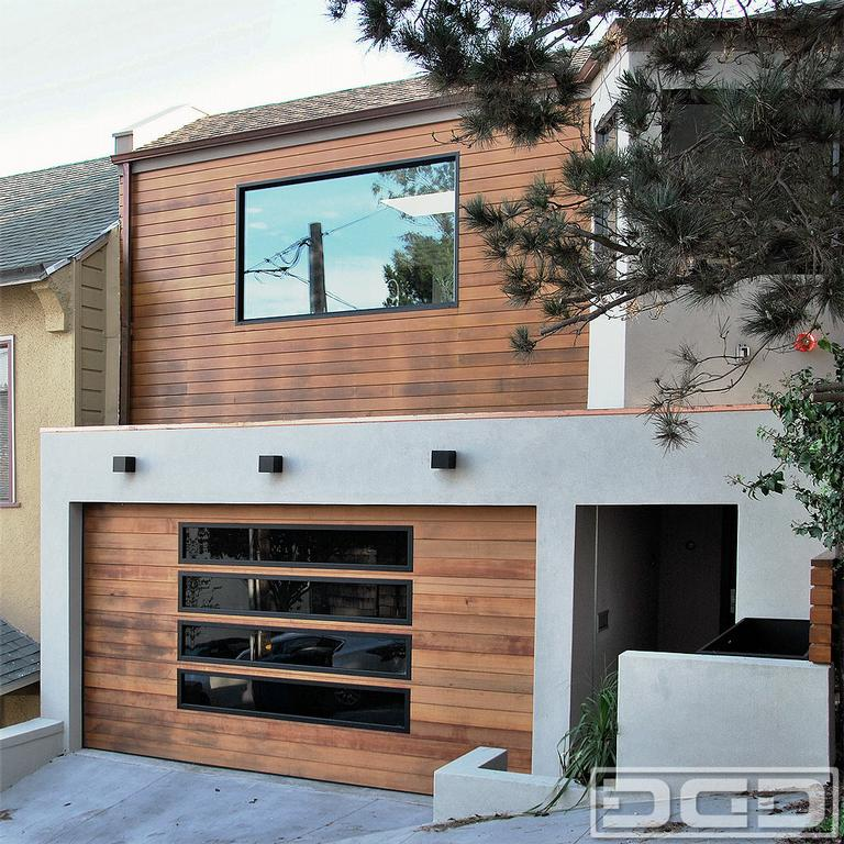 Los angeles custom garage doors in modern designs by Unique garage designs