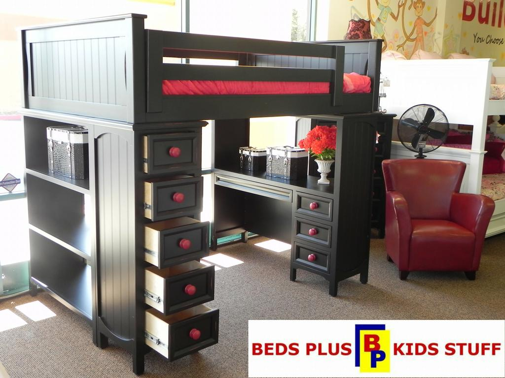 Kid 39 s bedroom furniture children 39 s bunk beds corona ca for Loft furniture
