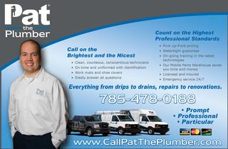 Pat Plumbing Heating & Air - Topeka, KS