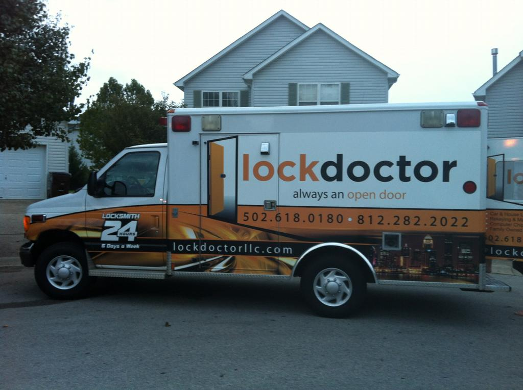 The Newest Addition To The Lockdoctor Team Our Ambulance
