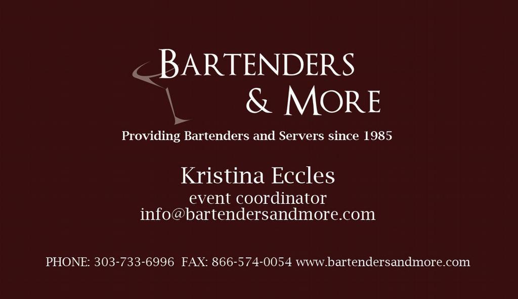 Bartender Slogans For Business Cards | Best Business Cards