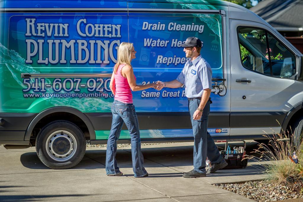 Kevin Cohen Plumbing Inc Eugene Or 97402 541 636 9370