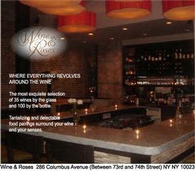 Wine & Roses - New York, NY