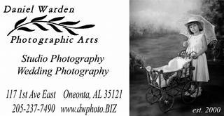 Daniel Warden Photography - Oneonta, AL
