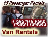 12-15 Passenger Van Rentals We Deliver To U - Fort Lauderdale, FL