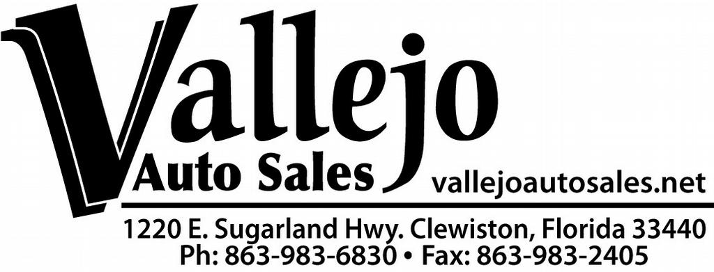 Vallejo Auto Sales >> Vallejo Auto Sales Used Parts Clewiston Fl 33440 863 983 6830