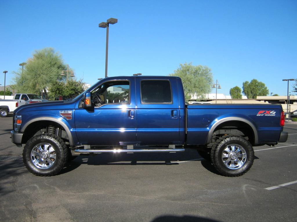 Pictures Of Blue Ford Trucks