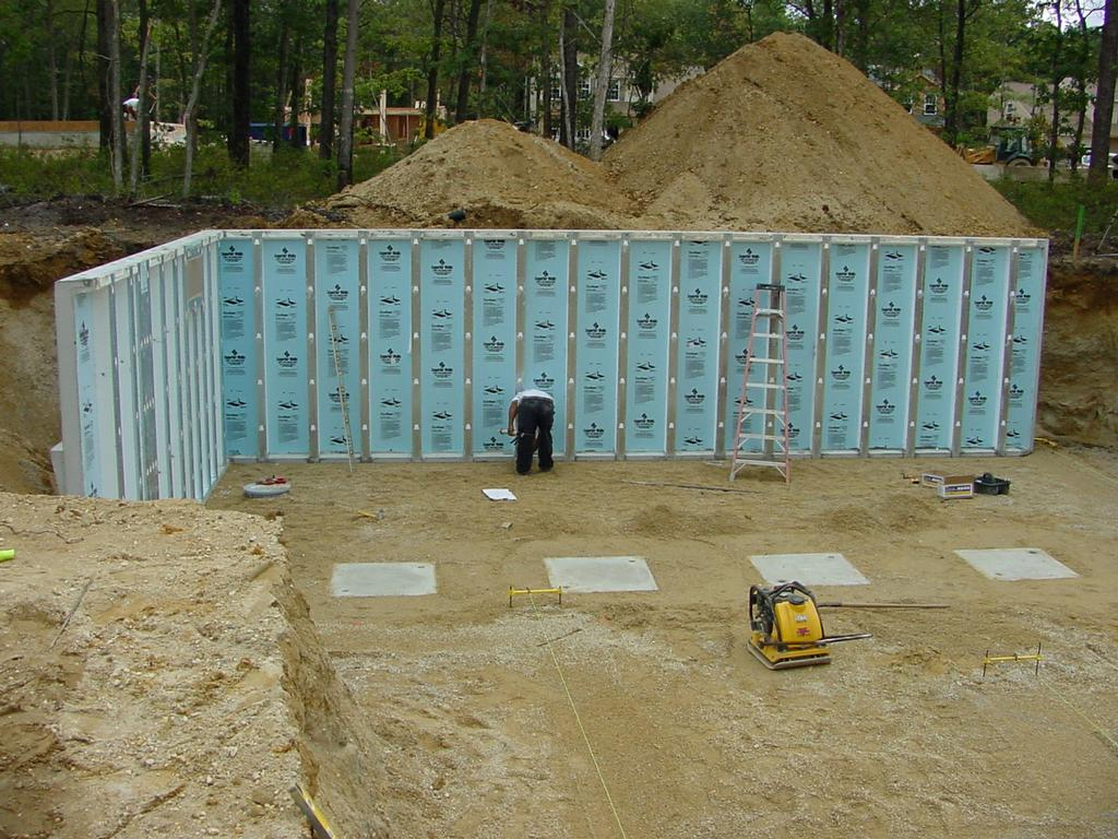 Superior walls by collier foundation systems inc for Www superiorwalls com