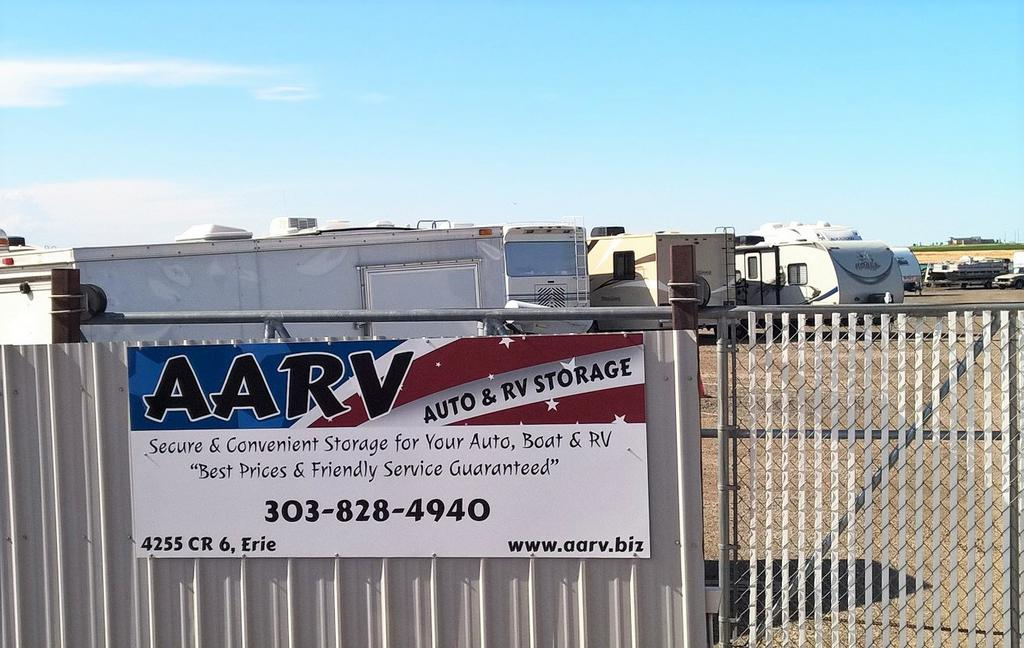 Aarv Auto Amp Rv Storage Erie Co 80516 303 828 4940 Movers