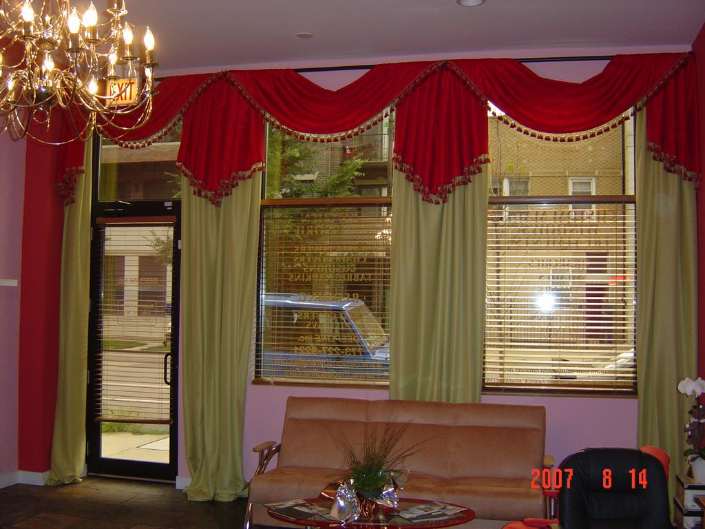 pictures for deepline inc custom made drapes window