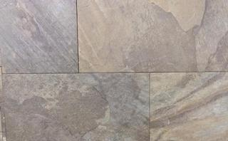Overseas Grey Slate Look Porcelain Tile