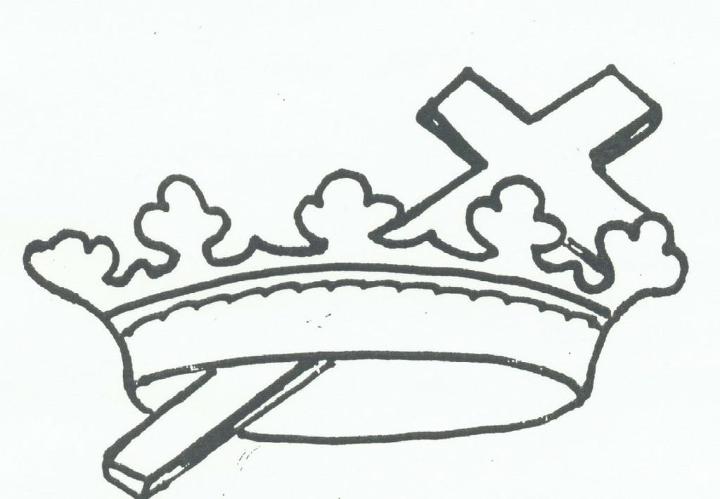 free cross and crown clipart - photo #41