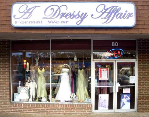 A Dressy Affair Bridal Formal Wear Cleveland Tn 37312